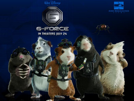 g-force movie